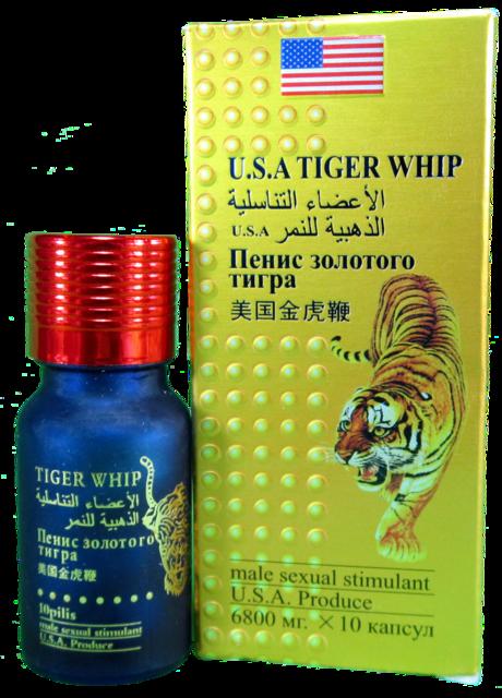 Возбуждающие таблетки для мужчин Пенис Золотого Тигра