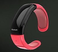 "Женский Bluetooth-браслет с часами ""Red Pearl"""