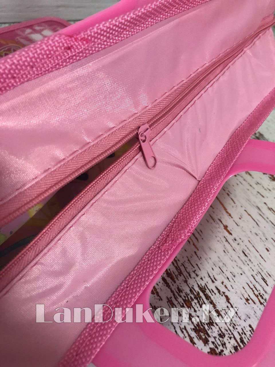 Детская папка-портфель с пластиковыми ручками Клуб Винкс (Winx Club) формат A4 розовая - фото 4