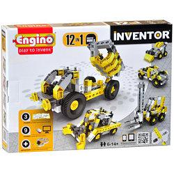 """Engino конструктор Inventor """"Спецтехника 12 в 1"""" 125 деталей, Энджино"""