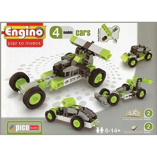 """Engino конструктор Inventor """"Автомобили 4 в 1"""" 50 деталей, Энджино"""