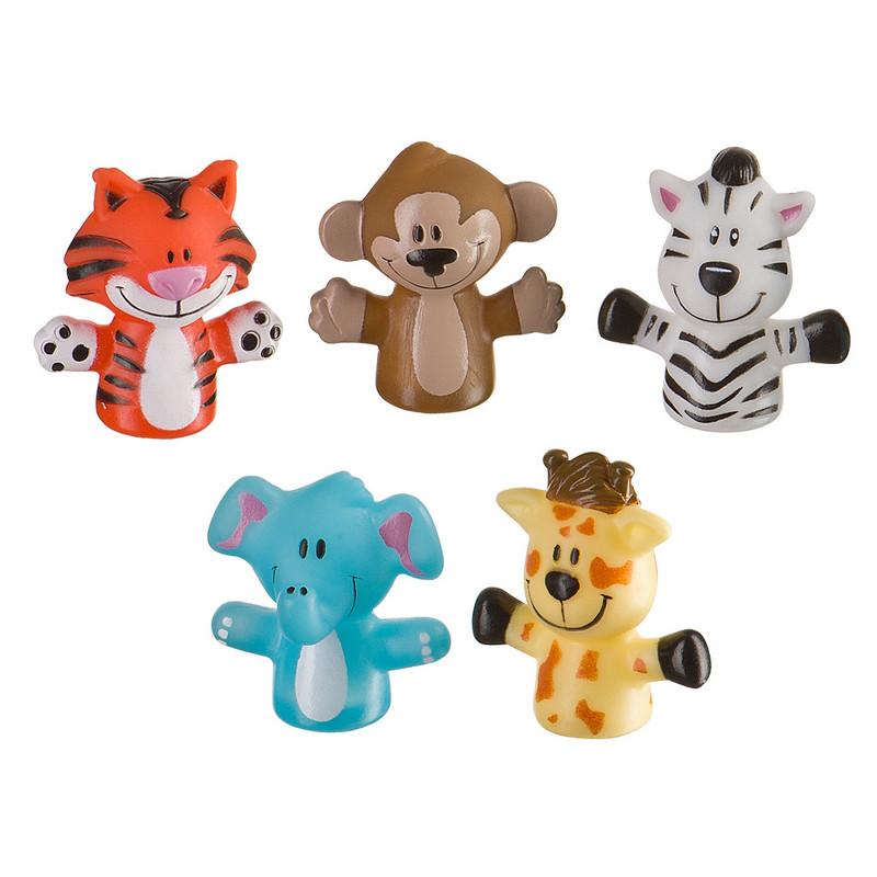 """Happy Baby Набор игрушек на пальцы """"Маленькие друзья"""" Fun Amigos"""