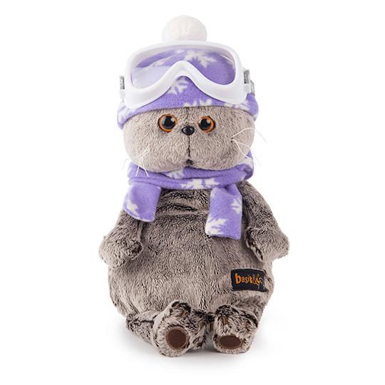 """Мягкая игрушка """"Басик-лыжник"""", 25 см"""