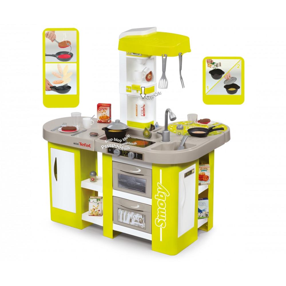 Smoby Детская кухня Tefal Studio XL с аксессуарами (звук)