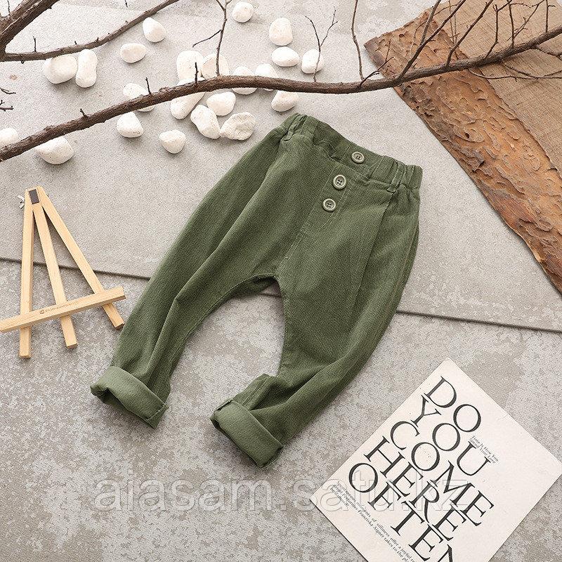 Микровельвет, брюки для мальчиков
