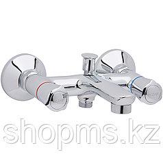 Смеситель W.Zorge ванна короткий излив, маховик металл., Z3505   **