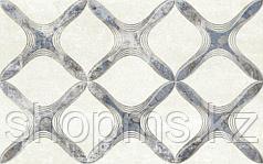 Керамическая плитка Шахтинская Персиан сер декор 02 (250*400)