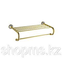 Полка для полотенец Potato P7111 золото    ***