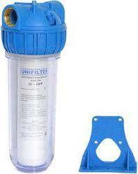 """Фильтр колба для воды 10"""" (1"""") с картриджем (5мкм)"""