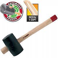 Киянка резиновая ЗУБР МАСТЕР 0,9кг 90мм деревянная ручка