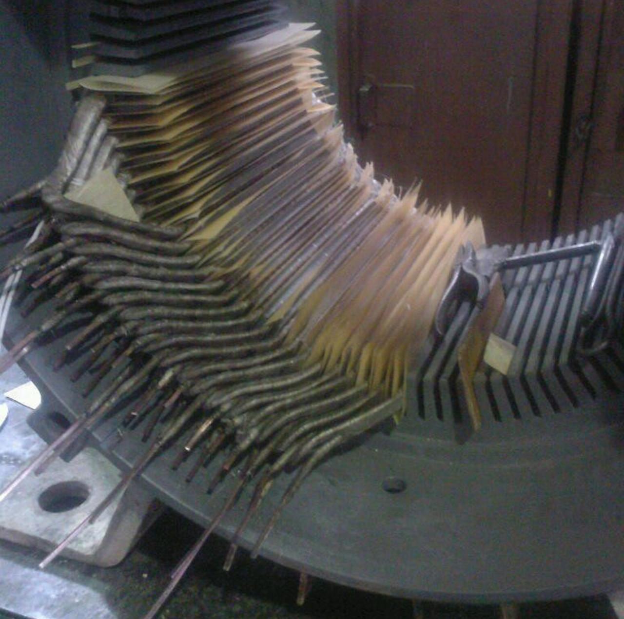 Ремонт электродвигателей с жоскими секциями
