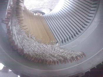 Ремонт электродвигателей с стержневой обмоткой
