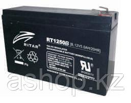 Батарея необслуживаемая (аккумулятор) Ritar RT1250 B (12V 5 Ah), Емкость аккумулятора: 5 Ah, Разъемы: F1/F2