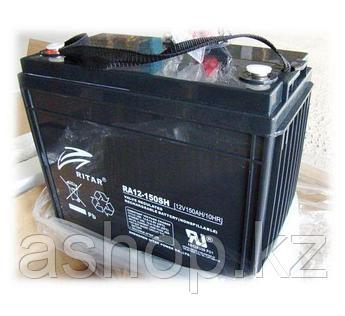 Батарея необслуживаемая (аккумулятор) Ritar RA12-150SH (12V 150 Ah), Емкость аккумулятора: 150 Ah, Разъемы: F5