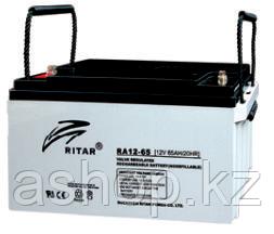 Батарея необслуживаемая (аккумулятор) Ritar RA12-65 (12V 65 Ah), Емкость аккумулятора: 65 Ah, Разъемы: F5/F11
