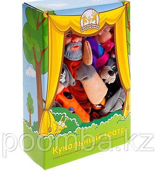 """Кукольный театр """"Колобок"""", 7 кукол"""