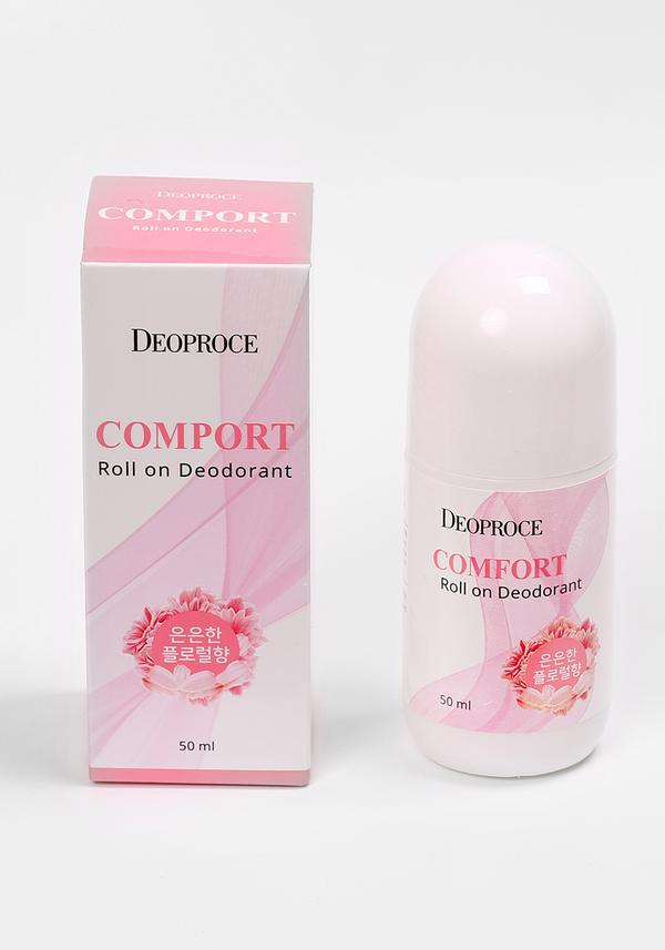 Deoproce comport roll on deodorant - Шариковый дезодорант 50 ml