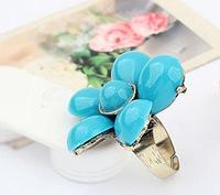 """Кольцо """"Синий цветок"""""""