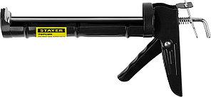 Пистолет полукорпусной для герметиков, гладкий шток Stayer Standard 0660 (310мл)