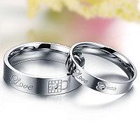 """Двойные кольца для влюбленных """"Верность"""", фото 1"""