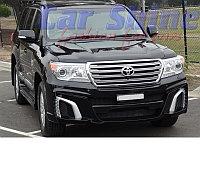 Обвес WALD Black Bison БЕЗ АРОК на Toyota Land Cruiser 200 , фото 1