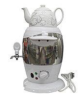 Самовар электрический  с чайником, 4л.