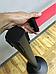 Чёрная стойка с вытяжной лентой красного цвета, фото 9