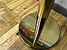 Золотая стойка с вытяжной лентой красного цвета, фото 9