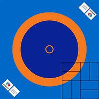 Борцовское покрытие (без матов), 8х8м