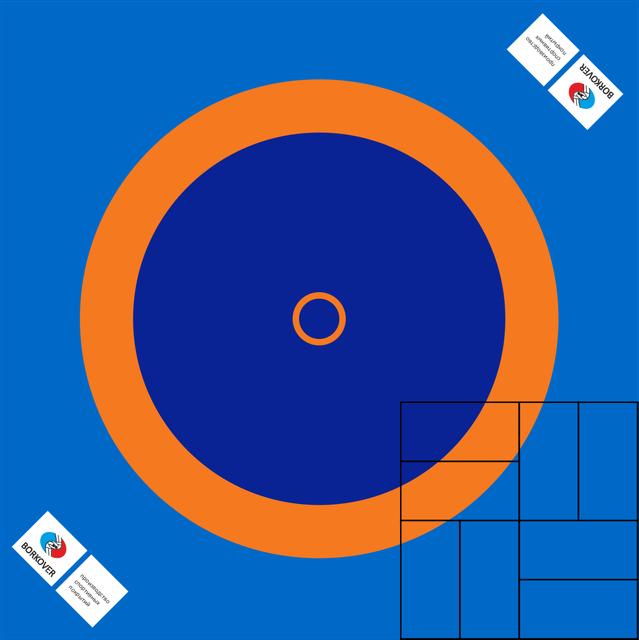 Борцовское покрытие (без матов), 10х10м