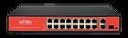 Коммутатор Wi-Tek WI-PS518GV с PoE, фото 2