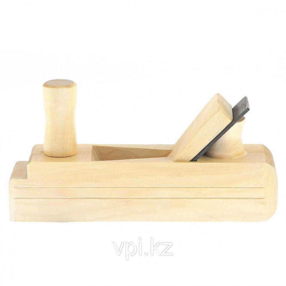 Рубанок, одинарник, деревянный 60*240мм