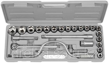 """Набор STAYER Автомобильный инструмент """"STANDARD"""" хромированное покрытие, 24 предмета  , фото 2"""