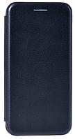 Кожаный чехол Open series для Samsung Galaxy J4 2018 (черный), фото 1