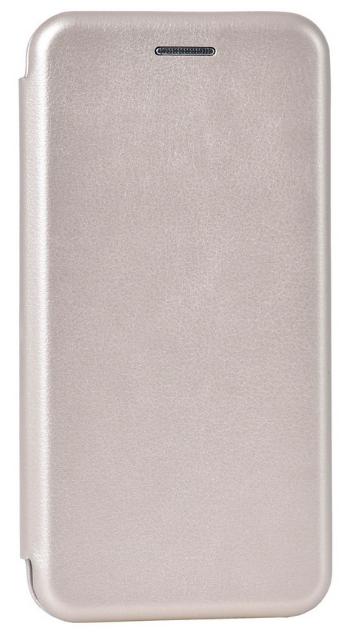 Кожаный чехол Open series для Samsung Galaxy A6 A600 2018 (золотистый)