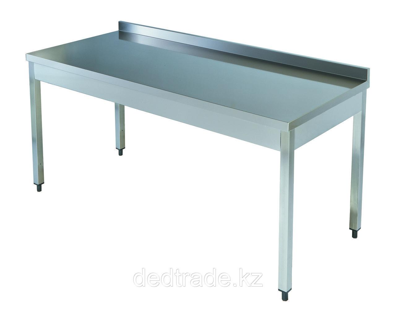 Рабочий стол без полки нержавеющая сталь Размеры 1200*600*850 мм