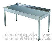 Рабочий стол без полки нержавеющная сталь Размеры 1600*600*850 мм