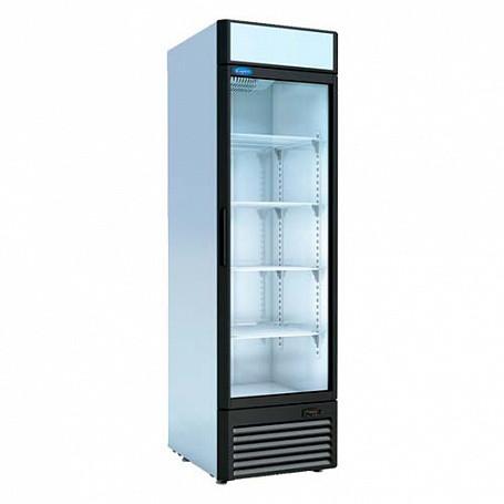 Шкаф среднетемпературный V=480л, КАПРИ 0,5СК (стеклянная дверь, канапе) 0..+7 С, 595х710х2030мм