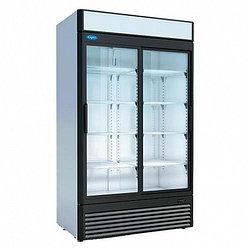 Шкаф холодильный среднетемпературный КАПРИ 1,12СК (стеклянные двери, купе, канапе) (1195х710х2030мм, 6,5кВт/ч)