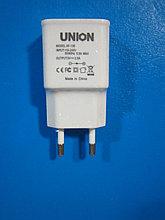 Адаптер Евровилка 220V на USB 5V, 2A