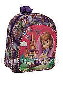 Детский рюкзак для детского сада Принцесса София фиолетовый
