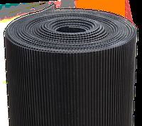 Резиновое напольное рифленное покрытие, фото 1