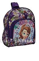Детский рюкзак для детского сада Принцесса София мини фиолетовый