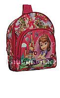Детский рюкзак для детского сада Принцесса София мини розовый