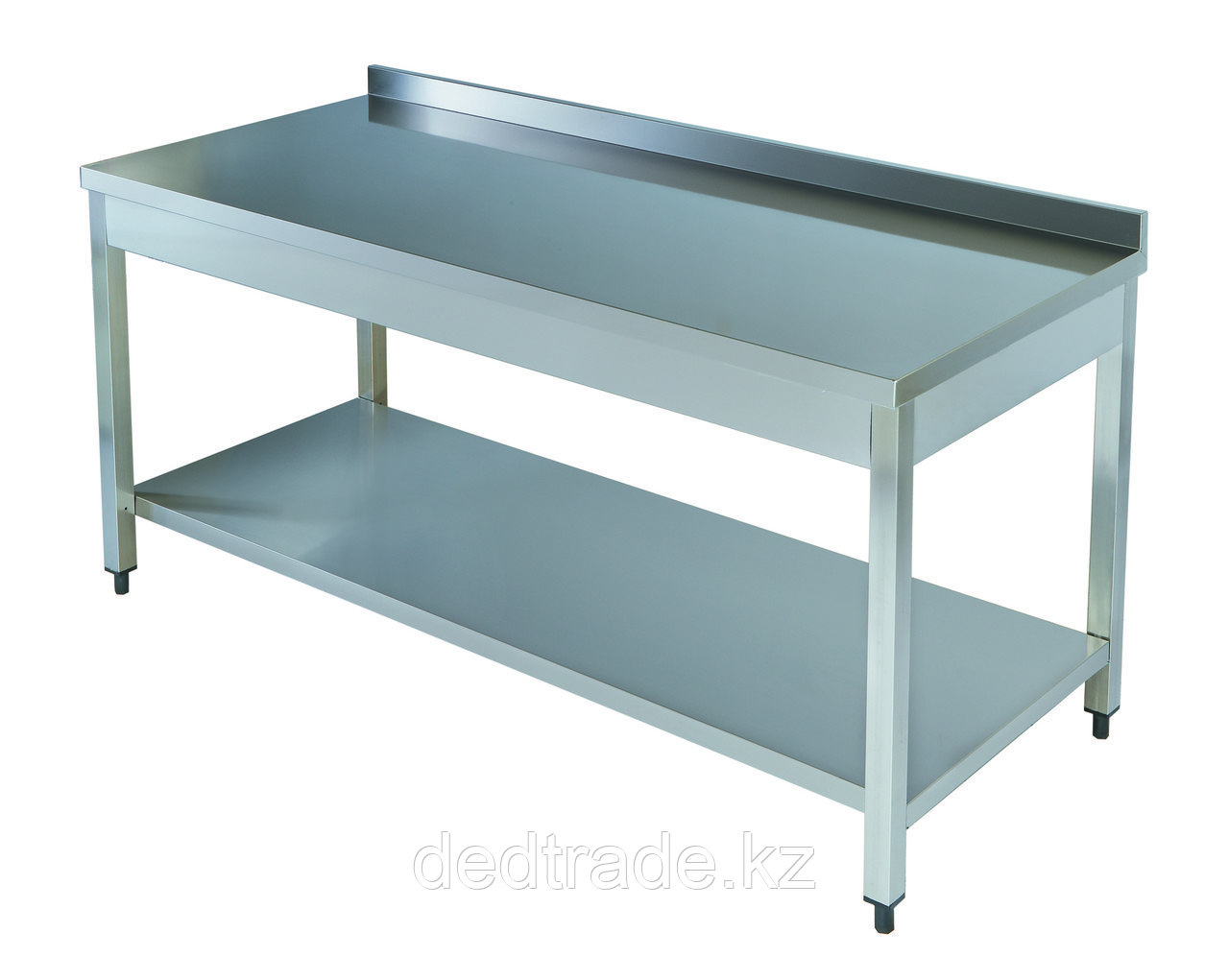 Рабочий стол с полкой нержавеющая сталь Размеры 1600*700*850 мм