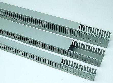 Канал кабельный перфорированный ПВХ 80×60 мм; 60×40 мм (2 м)