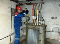 Замена масла на трансформаторе