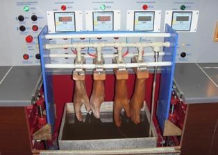 Испытания диэлектрических перчаток