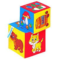 Мякиши Мягкие кубики «Чьё лакомство?»