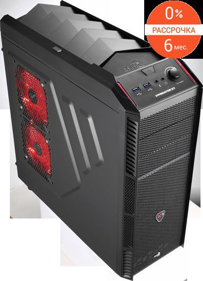 Кейс Aerocool Xpredator X1 Black Edition